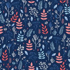 A Walk in the Woods pattern by Lilla Form