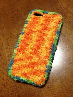 crochet iphone cover.case.cozy♡ iPhoneカバー