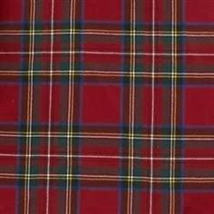 Scottish Tartan Carreaux Tissu Matériau-Noir