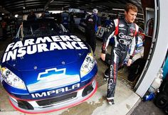Chase contender Kasey Kahne believes that the championship is still up for grabs with nine races to go. (Todd Warshaw, Getty Images for NASCAR) https://www.fanprint.com/stores/nascar-?ref=5750