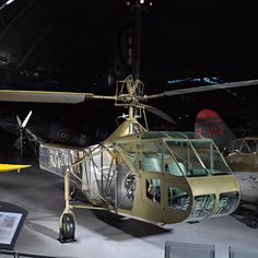 This Vought-Sikorsky XR-4 made its first flight on January 14, 1942. It was not the first helicopter to see military service, but the XR-4 was the world's first mass-production helicopter and the first successful production rotorcraft of single-rotor configuration.
