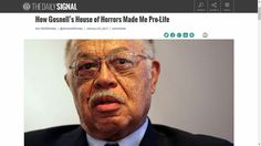 In 2013, Kermit Gosnell was convicted for murdering infants born alive during attempted abortion procedures. Have a paper bag nearby as you read this. SEE: www.Hosken-News.info/news/article_170125c.htm
