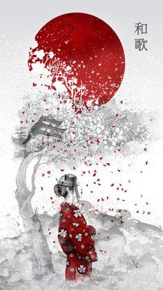bestofsociety6: Japanese Poem by Marine Loup