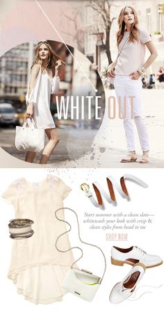 Cusp - White Out! Wear It From Head To Toe