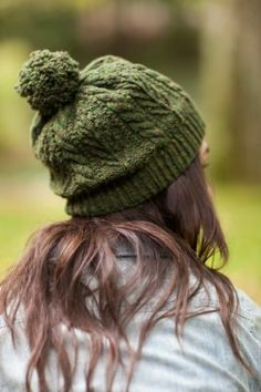 cabled hat pattern