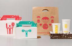 Hamburger nation packaging