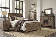 Trinell King Size Bed