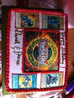 Yu-Gi-Oh Cake 11th Birthday, Birthday Celebration, Birthday Parties, Birthday Cake, Birthday Ideas, Cakes For Boys, Boy Cakes, Cake Designs, Card Games