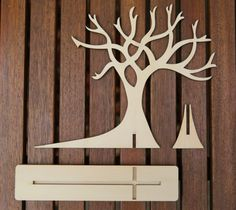 Jewellery Tree Assembly