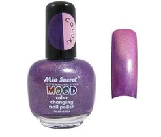 awesome   Mia Secret Mood Nail Lacquer Color Changing Nail Polish Stars to Purple #fashion #beauty #lifestyle #vintage #beverage #vintagedress #hair #nails