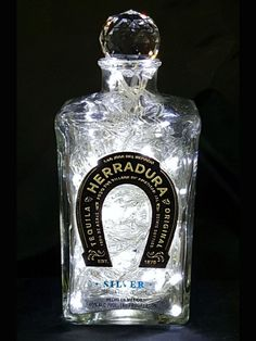 Upcycled Herradura Tequila Mood Therapy Liquor Bottle Light w/White LED's Top Tequila, Tequila Liquor, Best Tequila, Tequila Bottles, Liquor Bottle Lights, Liquor Bottle Crafts, Liquor Bottles, Perfume Bottles, White Lead
