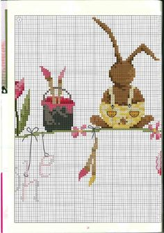 Image result for bunny cross stitch
