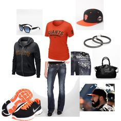 San Francisco Giants, the perfect outfit!!