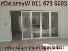 """Committed to superior quality and results."" Contact us for your #PainFree #Aluminium #Transformation! ☎️ 011 673 6603 or 📧 sales@delareyw.co.za #Sagga & #Aaamsa Group Approved! Folding Doors, White Paneling, Superior Quality, Windows, Group, Furniture, Home Decor, Accordion Doors, Decoration Home"