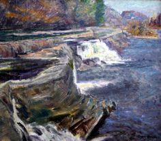 Eugene Speicher - Waterfall