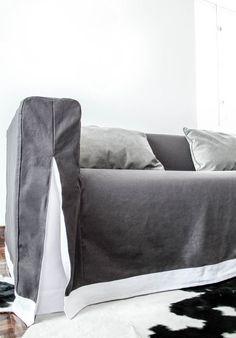 Klippan Long Skirt Grey Charcoal Gaia