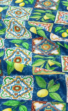 We freely ship to All the world by DHL Express and Tracking Number will be provided. #Velvet #Lemon_Majolica #Print #Home_Decor #Sicily #Lemon_Patchwork #Cushion #Curtain Velvet Upholstery Fabric, Velvet Cushions, Patchwork Fabric, Patchwork Cushion, Make Your Own Clothes, Dressmaking Fabric, Draped Fabric, Home Decor Fabric, Duvet Sets