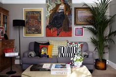 Decorate a Rented Flat: The Living Room | House & Garden
