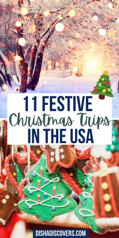 USA Christmas Destinations: 11 of the Best Holiday Getaways in America | Christmas travel destinations USA | Christmas trips USA | Christmas town USA | Christmas travel USA | USA Christmas towns | Christmas getaway USA | Christmas vacation destinations | best christmas vacation destinations | best christmas vacation destinations in the us | christmas vacation destinations usa | christmas vacation destinations united states | christmas vacation destinations ideas | christmas getaway ideas Christmas Travel, Christmas Vacation, Holiday Travel, Holiday Fun, Christmas Trips, Xmas, Christmas Destinations, Winter Destinations, Travel Destinations