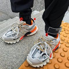 """36d6179471e5c COM on Instagram  """"Track Trainer by  Balenciaga -  balenciaga is renowned  for pushing the boundaries of traditional footwear. The next big thing  after the…"""""""