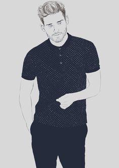 Arthur Kulkov - fashion illustration