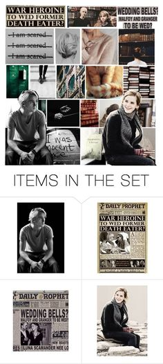 """""""Favorite Ship That Wasn't Canon: Dramione"""" by aliceusa-fangirl ❤ liked on Polyvore featuring art and Dramione"""