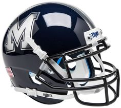 Old Ghost Collectibles - Memphis Tigers NCAA Schutt XP Blue with Chrome Logo Full Size Replica Football Helmet, $81.99 (http://www.oldghostcollectibles.com/memphis-tigers-ncaa-schutt-xp-blue-alternate-2-full-size-replica-football-helmet/?page_context=category