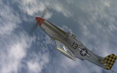 P-51D Checkertail Clan - skin made for DCS P-51D by Tom Weiss , hosted at www.lockonfiles.com