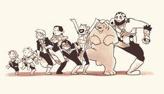 "viktormon: "" When you go to the Feywild with your mates. """