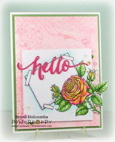 La Vie en Rose Digital Stamp Set