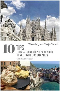 Traveling to Italy soon? 10 Tips from a Local to Prepare your Italian Journey Find out the best tips to travel to Italy from a local. Discover how to save on Italian trains and public transport. Plan your Italian journey at the best time. #Italy #Travel #TravelTips #BucketList