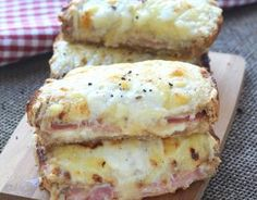 Recipe TRUE croque monsieur step-by-step Easy Smoothie Recipes, Easy Smoothies, Snack Recipes, Coconut Recipes, Cream Recipes, Croque Mr, Toast Hawaii, Homemade Frappuccino, Pumpkin Spice