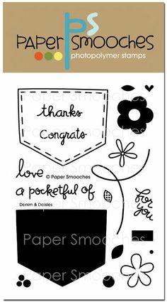 Paper Smooches: Denim & Daisies