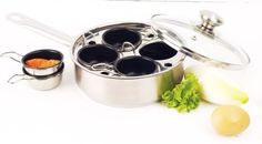 Shop a great selection of Demeyere Egg Cooker/Poacher. Find new offer and Similar products for Demeyere Egg Cooker/Poacher. Egg Poacher Pan, Egg Skillet, Specialty Cookware, Best Pans, Induction Cookware, How To Make Cupcakes, Exotic Food, Egg Cups