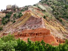 Palo Duro Canyon had great trails for hiking or horseback