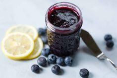 Simply Recipes, Jam Recipes, Cookbook Recipes, Healthy Recipes, Healthy Food, Delicious Recipes, Keto Recipes, Strawberry Blueberry Jam, Fresh Blueberry Pie