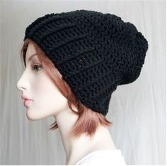 Check out this item in my Etsy shop https://www.etsy.com/listing/253869461/unisex-slouchy-hat-chunky-teen-adult