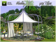 Pilar@TSR - Garden Aladin #Sims3