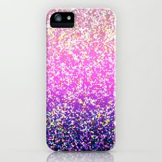 Glitter Graphic Background G104 iPhone & iPod Case by MedusArt - $35.00