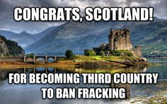 Fracking: go ahead but \