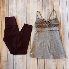 You know what they say, beach bodies are made in the winter! Get started on that bikini bod by hitting the gym in all the best brands like #lululemon - Find them all for less at #PlatosClosetBarrhaven | www.platosclosetbarrhaven.com