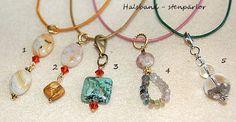 Halsband med stenpärlor, från 49:-