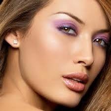 Purple eyes...