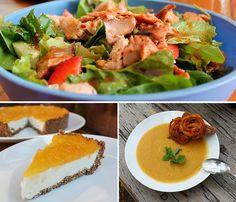 Recetas saludables de pollo, pescado, arroces, ensaladas, postres dietéticos, pan sin gluten. Comidas sanas, sencillas y deliciosas.