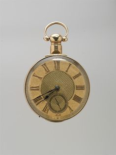 Watchmaker: W. Mitchell   Date: early 19th century Culture: British, Richmond, Yorkshire Medium: Gold