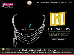 13-Sep-2015 Platinum Official Retailer  #PlatinumJewelry #Platinum  #IHJEWELERS #AHMADABAD #GOLDORNAMENTS  http://www.ihjewellers.com/about.php