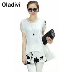 Find More Blouses & Shirts Information about 5XL Plus Size Women Clothing 2015 Summer New Fashion Embroidered Chiffon Blouse Casual Short Sleeve Shirts Tops Short Dresses XL,High Quality clothing lamb,China clothing for large dogs Suppliers, Cheap clothing doll from Oladivi Group - Minabell Fashion Store on Aliexpress.com