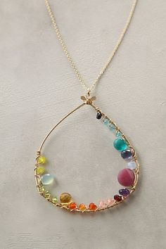 $118?! i can make this! Inner Circle Necklace - Anthropologie.com