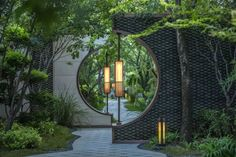 Awesome garden entrance decoration ideea for those who like the eastern style pergola entrance Garden Entrance Garden Entrance, Garden Arbor, Terrace Garden, Garden Gate, Landscape Architecture, Landscape Design, Zen Garden Design, Chinese Architecture, Chinese Garden