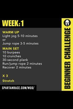 Spartan Up week 1